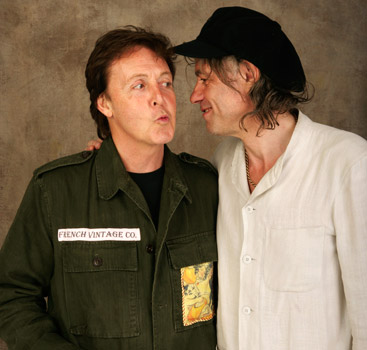 Paul McCartney & Bob Geldof