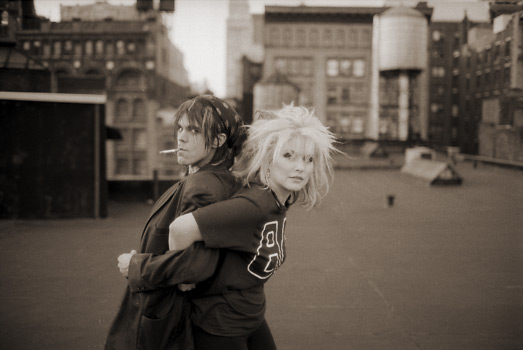 Steven Sprouse & Debbie Harry